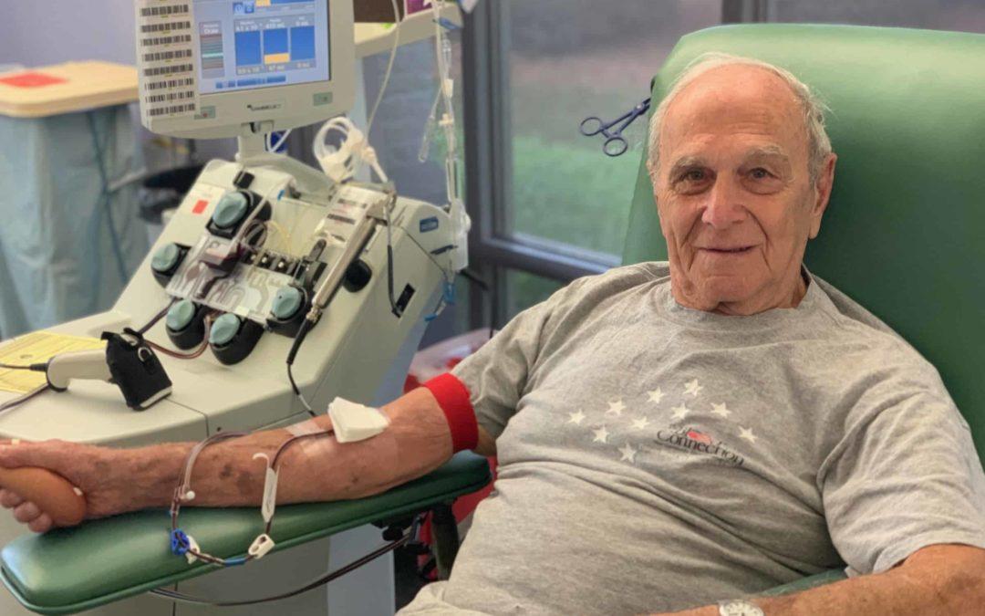 Retired U.S. Navy Man Donates 400+ Times